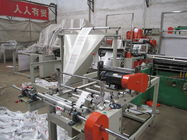 Çin PLC T Shirt Polythene bag making machine Single line With Servo motor Fabrika