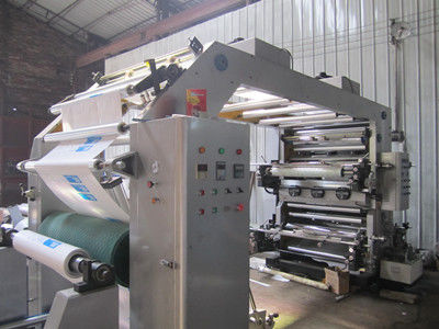 Çin 15Kw Multicolor Poly Bag Printing Machine With 8pcs Anilox Roller Distribütör