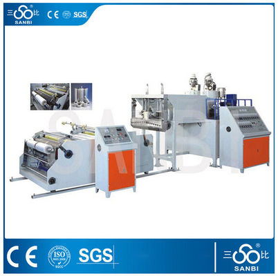 120KW Stretch Film Making Machine Polyethylene Blown Film Extruder