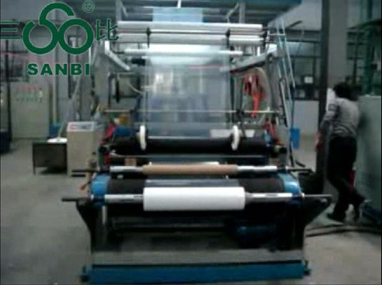 Çin Double Winder Multilayer Blown Film Extrusion with Rotary Die Head Distribütör